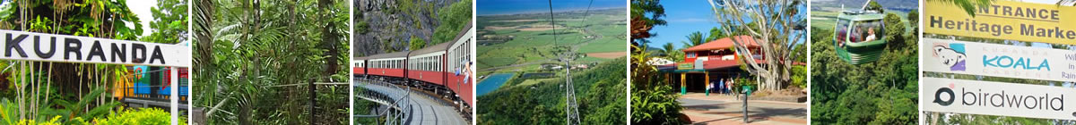 Attractions in the Kuranda area